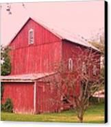 Pennsylvania Barn  Cira 1700 Canvas Print