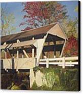 Pennsylvania Covered Bridge Canvas Print