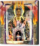 Pentecost 2009 Canvas Print by Glenn Bautista