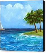 Perfect Sailing Day Canvas Print