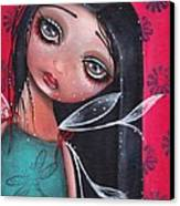 Perla Canvas Print by  Abril Andrade Griffith