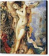 Perseus And Andromeda Canvas Print by Gustave Moreau