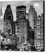 Perspectives Bw Canvas Print by JC Findley