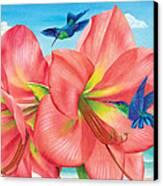 Petal Passion Canvas Print