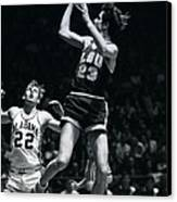 Pete Maravich Fade Away Canvas Print by Retro Images Archive