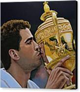 Pete Sampras Canvas Print by Paul Meijering