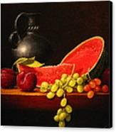 Petite Watermelon Canvas Print