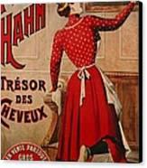 Petrole Hahn Canvas Print