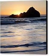 Pfeiffer Beach Sunset II Canvas Print by Jenna Szerlag