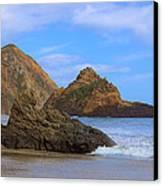 Pfeiffer Beach On Big Sur Coast Canvas Print by Viktor Savchenko