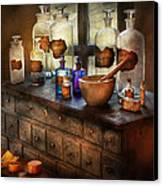 Pharmacist - Medicinal Equipment  Canvas Print by Mike Savad
