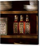 Pharmacy - For All Your Lubrication Needs Canvas Print by Mike Savad