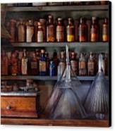 Pharmacy - Master Of Many Trades  Canvas Print
