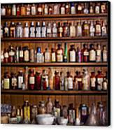 Pharmacy - Pharma-palooza  Canvas Print by Mike Savad