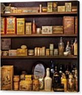 Pharmacy - Quick I Need A Miracle Cure Canvas Print by Mike Savad