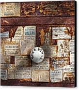 Pharmacy - Signs Of The Time  Canvas Print by Mike Savad