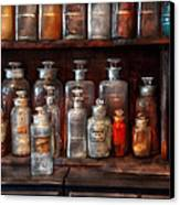 Pharmacy - The Chemistry Set Canvas Print by Mike Savad