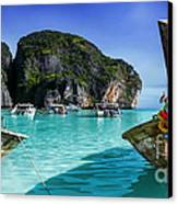 Phi Phi Islands Canvas Print by Shannon Rogers
