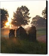 Philadelphia Cricket Club At Sunrise Canvas Print by Bill Cannon