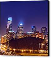 Philadelphia Nightscape Canvas Print