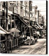 Philadelphia's Italian Market Canvas Print by Bill Cannon