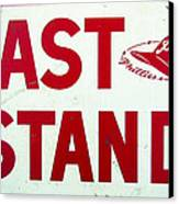 Phillies East Stand Sign - Connie Mack Stadium Canvas Print