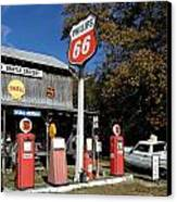 Phillips 66 With The Ranchero Canvas Print
