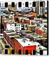 Philly Filmstrip Canvas Print by Alice Gipson