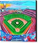 Philly Park Canvas Print by Jennifer Virgin