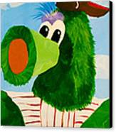 Philly Phanatic Canvas Print by Trish Tritz