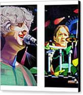 Phish Full Band Canvas Print