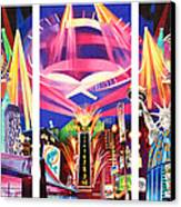 Phish New York For New Years Triptych Canvas Print by Joshua Morton