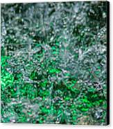 Phone Case - Liquid Flame - Green 2 - Featured 2 Canvas Print