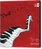 Piano Fun - S01at01 Canvas Print