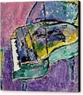 Piano Green Canvas Print