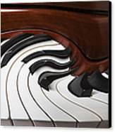 Piano Surrlistic Canvas Print by Garry Gay