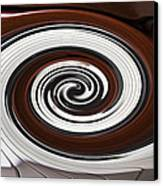 Piano Swirl Canvas Print by Garry Gay