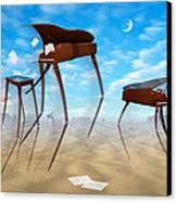 Piano Valley Canvas Print