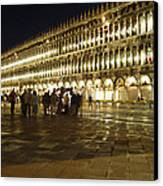 Piazza San Marco Canvas Print by Ellen Henneke
