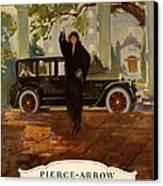 Pierce-arrow  1920s Usa Cc Cars Pierce Canvas Print
