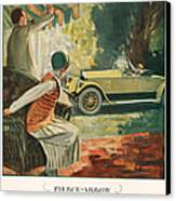 Pierce Arrow 1925 1920s Usa Cc Cars Canvas Print
