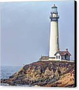 Pigeon Point Canvas Print by Heidi Smith