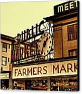 Pike Place Market - Seattle Washington Canvas Print