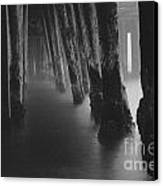 Pillars And Fog 1 Canvas Print by Paul Topp