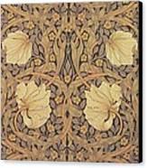 Pimpernel Wallpaper Design Canvas Print