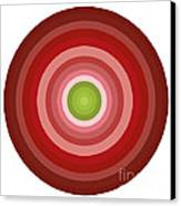 Pink Circles Canvas Print by Frank Tschakert