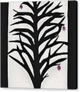 Pink Leaf Maple Canvas Print by Barbara St Jean