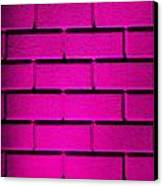 Pink Wall Canvas Print by Semmick Photo