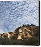 Pinnacles Of Fraser Island Canvas Print by Linda Lees