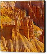 Pinnicles At Sunset Point Bryce Canyon National Park Canvas Print by Jeff Swan